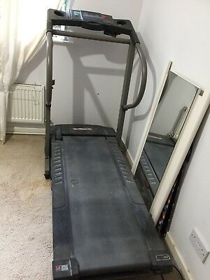 Proform 725Q electric treadmill space saver. Used but in good condition