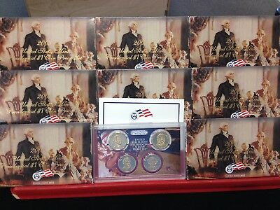 8 Set LOT of 2008-S PROOF Presidential Sets Original Boxes