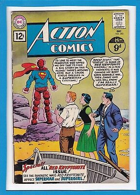 Action Comics #283_December 1961_Very Good+_Superman_Supergirl_Silver Age Dc!