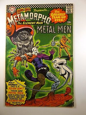 Brave and The Bold #66 Metamorpho and Metal Men!! Sharp Fine- Condition!!