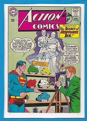 Action Comics #310_March 1964_Very Good+_Superman_Jimmy Olsen_Silver Age Dc!