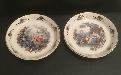 Antique Lord Nelson Hand Crafted Pin Dishes