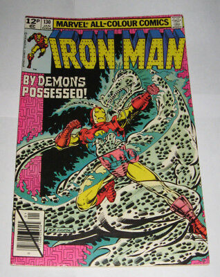 The Invincible IRON MAN Marvel Comic issue 130