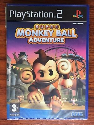 Super Monkey Ball Adventure Ps2 Playstation 2 New Factory Sealed pal