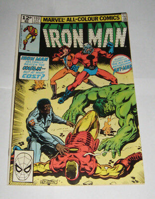 The Invincible IRON MAN Marvel Comic issue 133