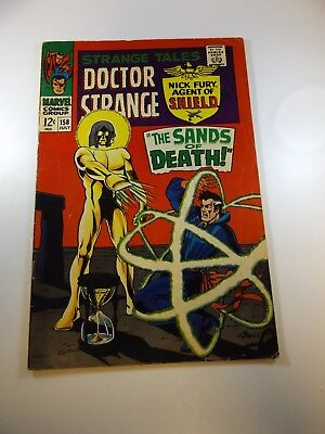 Strange Tales #158 VG+ condition Free shipping on order over $100.00!