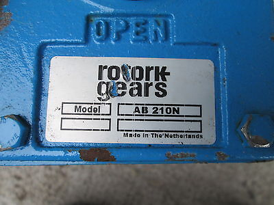 Rotork Gears Butterfly Valve AB 210N  New Marine Process Control Ship