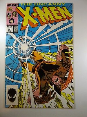 The Uncanny X-Men #221 1st Mr Sinister / Wolvie/Sabretooth Fight! VF Condition!!