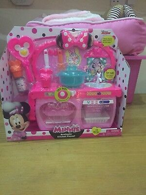 Minnie Mouse Bowtastic Kitchen Playset