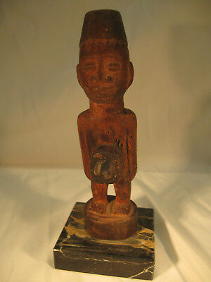 "7"" Fetish YOMBE Power Figure Nkisi Congo Kongo Magic Tribal No Reserve"