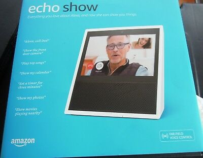 Amazon Echo Show Smart Assistant - Black - 7 Inch touch screen New
