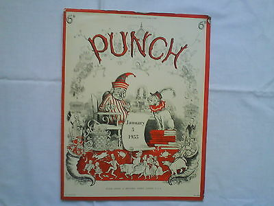 Punch Magazines from 5thJan 1955 - 28th Dec 1955