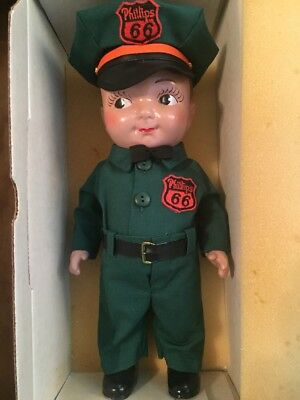 Lil Phil Phillips 66 Ames Doll with Box Gas Station Attendant #2282