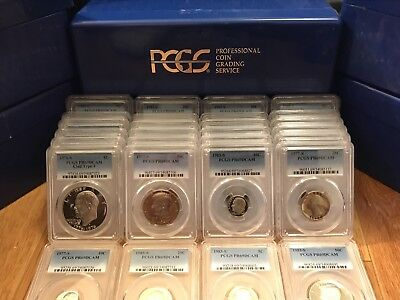 One Deep Cameo Proof-69 Graded Pcgs Pulled At Random Silver Every 5 Coins Estate