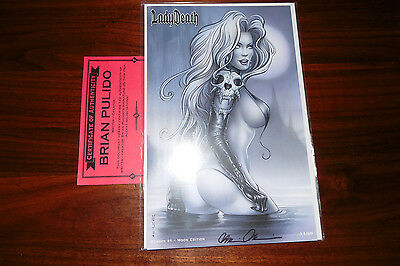 Lady Death Echoes 1 Moon Edition Moore Variant Moore Signed Pulido 11/69 Phoenix