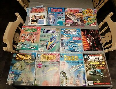 Nice unread mint condition collection of gerry anderson stingray comics 1 - 20