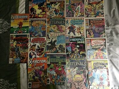 Lot of 18 Marvel Comic Books COPPER age Guardians of the Galaxy MORE see photo!