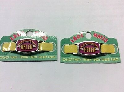 "2 LACE MATES ""HELEN"" (Shoe Or Bracelet Charm) Party Favours FREE POSTAGE"