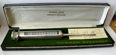 I have a Gorham Sterling Martini Spike ( Vermouth Dispenser) new in box