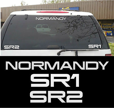 Mass Effect - Normandy SR1 & SR2 Sticker/Decal Pack
