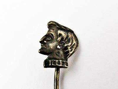Antique John Billee Wild West Outlaw Western American Figural Souvenir Stick Pin