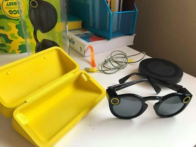 Snapchat Spectacles BLACK GC RARELY USED BUY FAST!