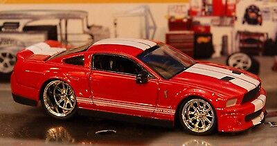 2007 07 Ford Shelby GT-500 4.6L 281ci V-8 1/64 GT500 Muscle Car Rubber Tires