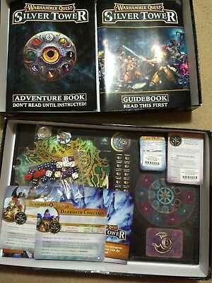 Warhammer Quest Silver Tower NO MINIATURES Board Game Age of Sigmar