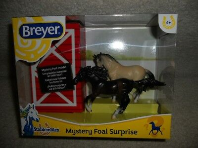 Breyer Stablemate mystery foal surprise with Andalusian mold 2018
