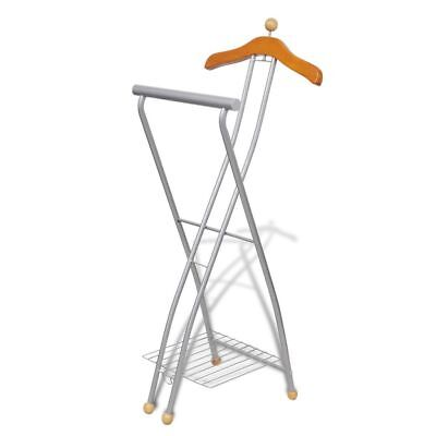 Portable Cloth Hanger Garment Rack Coat Shoe Hat Metal Stand Clothes Airer Dryer