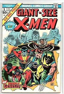 Giant Size X-Men #1 - 1st New X-Men Team - May '75 - Marvel - F/VF