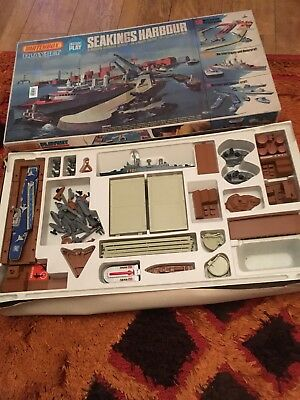 Matchbox PS-3 Seakings Harbour Play set 1970's Vintage Collectable