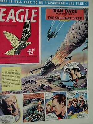 EAGLE COMIC....Dan Dare....28th February  1958....Vol 9...No 9....DAN DARE +