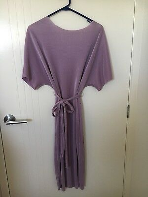ASOS Purple/ Lavender Formal Maternity Dress Size 14 To 16