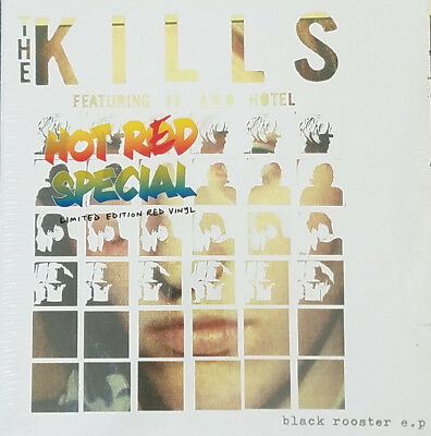 "THE KILLS Black Rooster RED Vinyl 10"" NEW & SEALED Black friday"