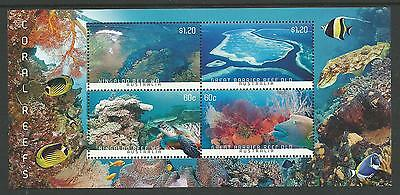 2013 Coral Reefs  set of 4 Complete MUH/MNH as Purchased from PO