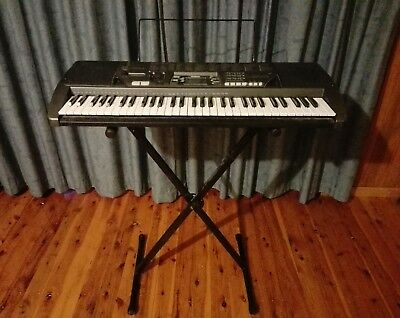 Casio CTK-700 100 Song Bank Keyboard including adjustable Stand