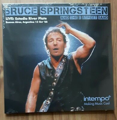 BRUCE SPRINGSTEEN - Live at Estadio River Plate, - Intempo - KXLP16 - NEW