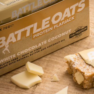 Battleoats Protein Flapjacks 12 x 70g bars
