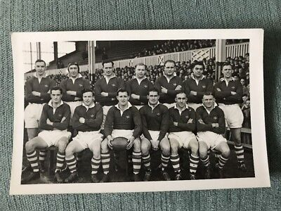 The Wales Rugby League Team - October 23rd vs France at St Helens Oct 1948