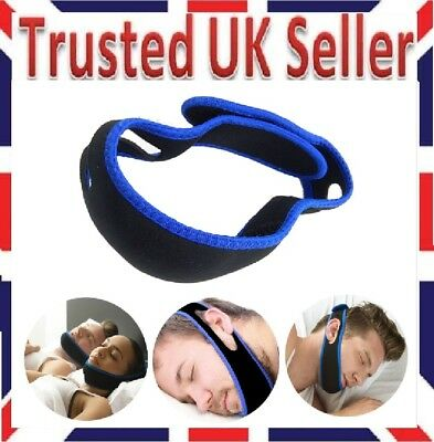 Anti Snore Sleep Apnea Strap Belt Jaw Solution Chin Support Cpap Mesred