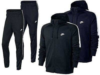Nike Tribute Full Polyester Tracksuit Zip Hoody Jogging Bottms Joggers