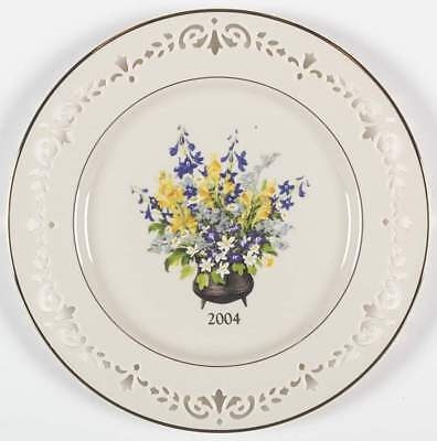 Lenox COLONIAL BOUQUET PLATE 2004 New Jersey 4118891