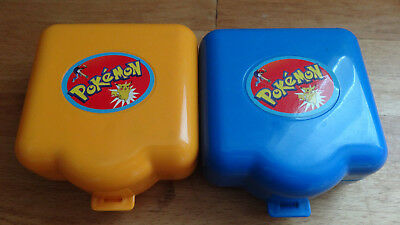 2 X Vintage Tomy Pokemon Polly Pocket Style Playset Nintendo 1997.