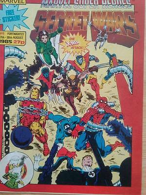 SECRET WARS Comic - No 9 - Date 17th - 30 th August - Marvel comic