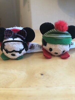 New Disney Tsum Tsum Micro Plush Mickey and Minnie Mouse UK 2017 Advent Calendar