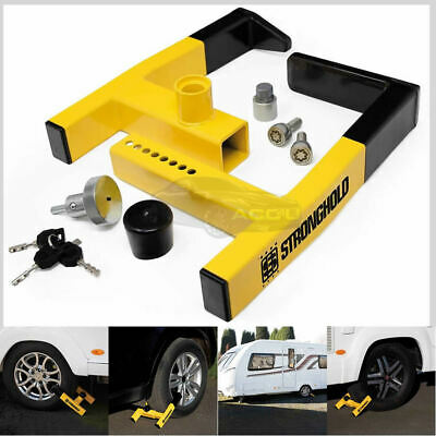 Stronghold SH5438 Atlas Insurance Approved Caravan Trailer Security Wheel Clamp