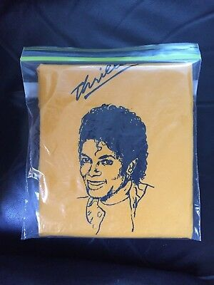 Super Rare Original Michael Jackson Thriller 1984 Tour T Shirt Size Large
