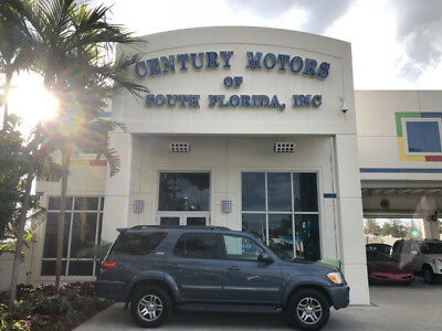 2006 Toyota Sequoia SR5 Sport Utility 4-Door unroof Tow Package Third Row Seat Alloy