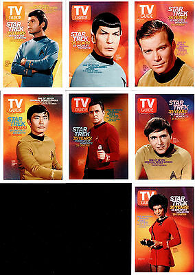 The Quotable Star Trek TOS TV Guide Covers Trading Card Set